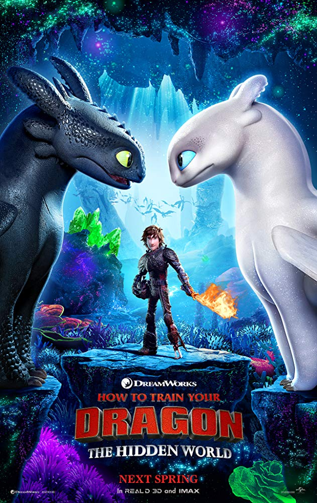 Movie Poster: How to Train Your Dragon: The Hidden World