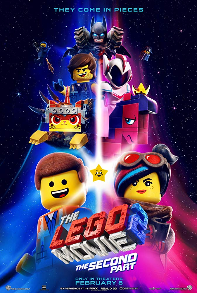 Movie Poster: The Lego Movie 2: The Second Part