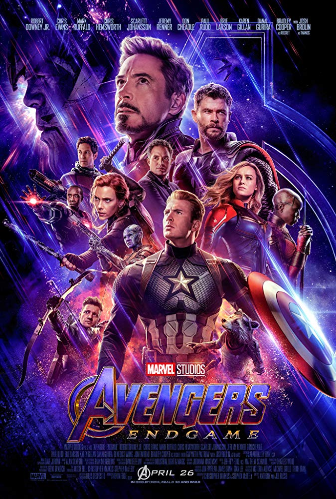 Movie Poster: Avengers: Endgame