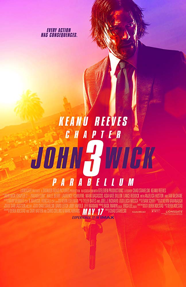 Movie Poster: John Wick: Chapter 3 – Parabellum