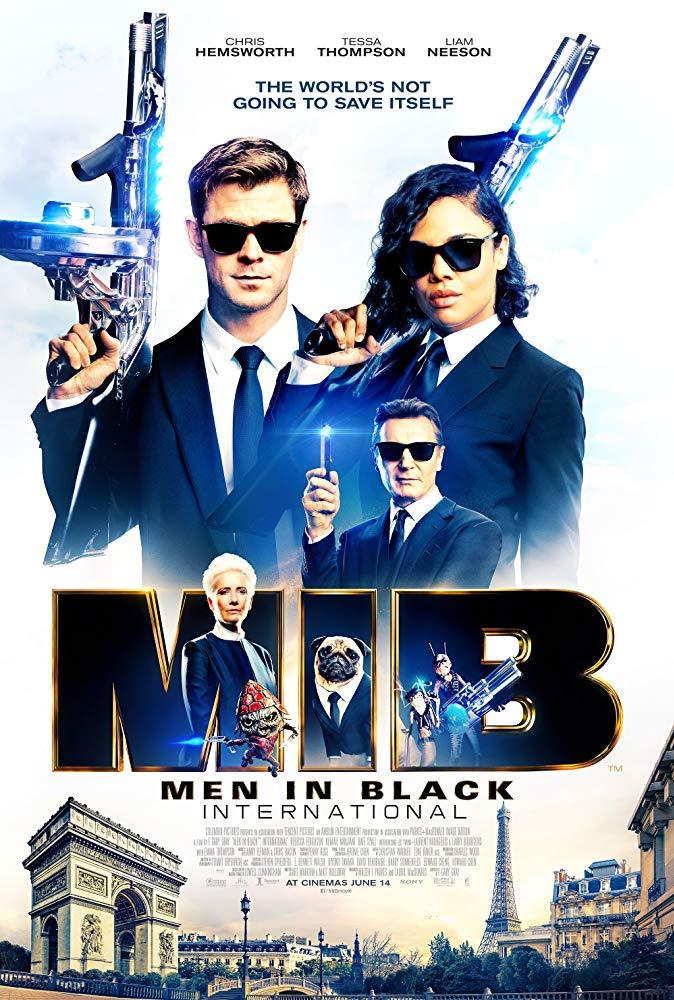Movie Poster: Men in Black: International