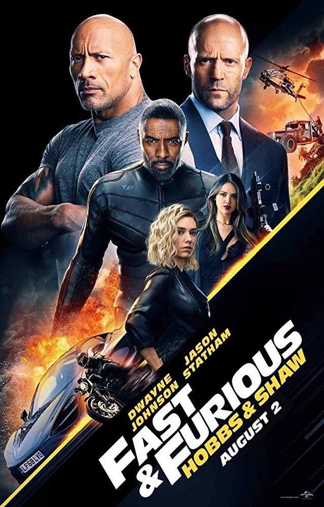 Movie Poster: Fast & Furious Presents: Hobbs & Shaw