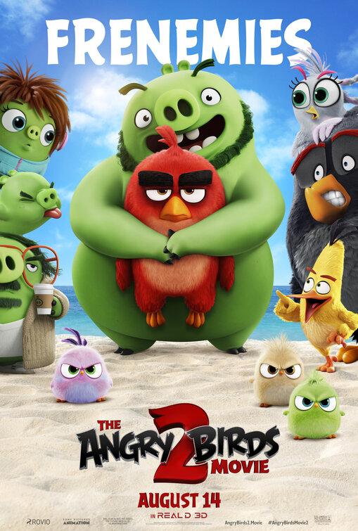 Movie Poster: The Angry Birds Movie 2