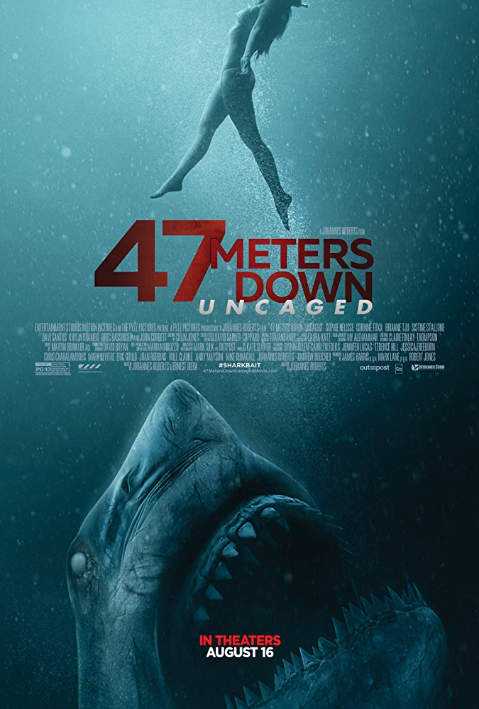 Movie Poster: 47 Meters Down: Uncaged