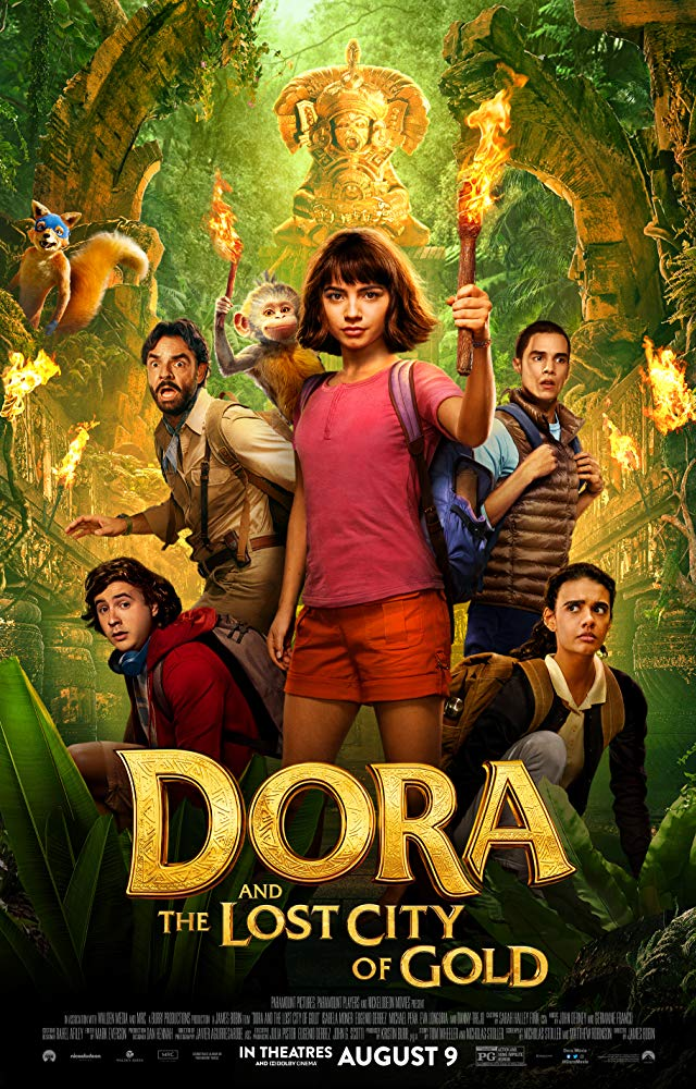 Movie Poster: Dora and the Lost City of Gold