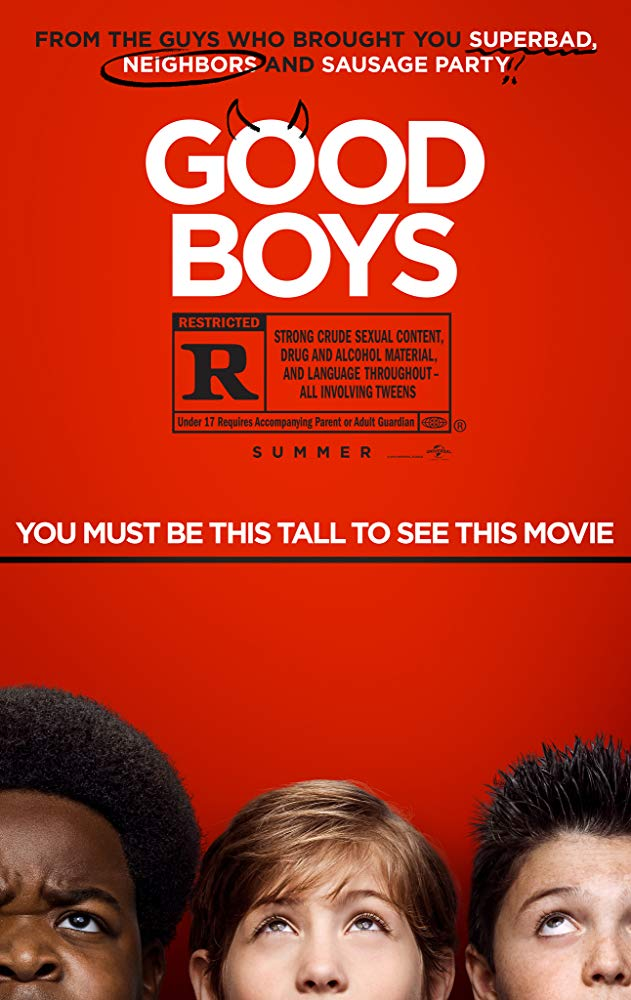 Movie Poster: Good Boys
