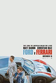 Movie Poster: Ford v Ferrari