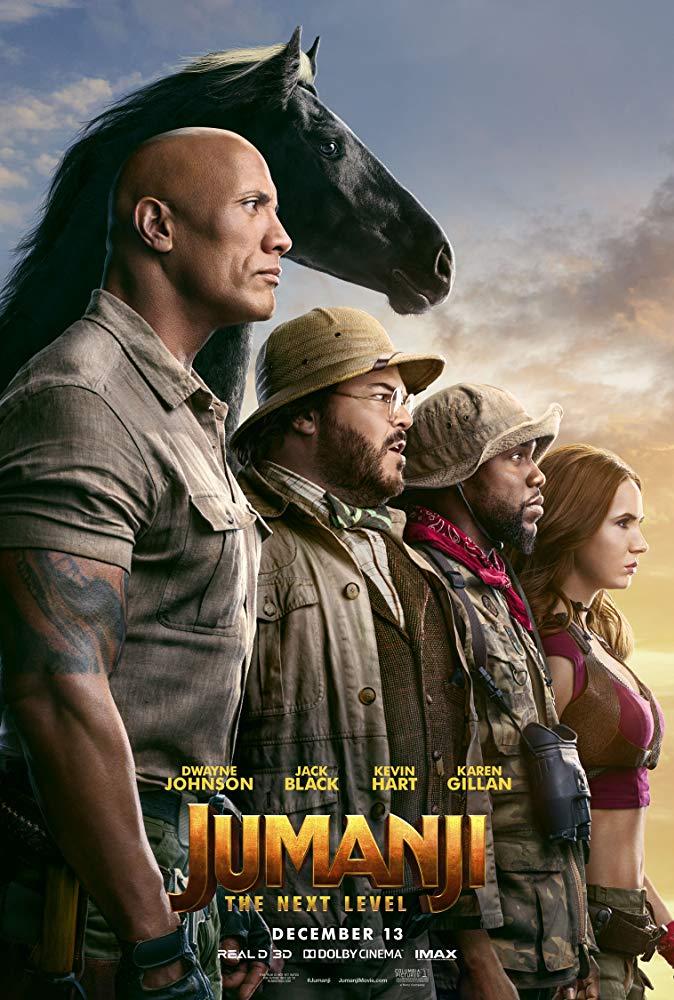 Movie Poster: Jumanji: The Next Level
