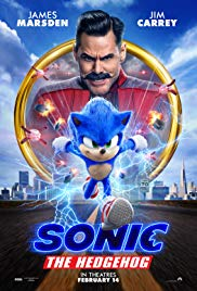 Movie Poster: Sonic the Hedgehog