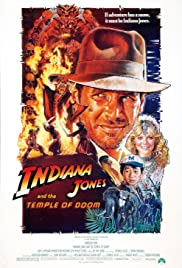 Movie Poster: Indiana Jones and the Temple of Doom